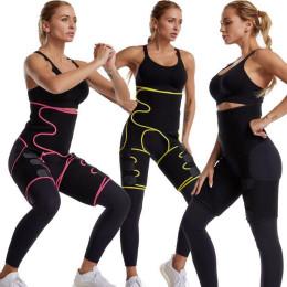 Waist Trainer, Hip Lift Enhancer Combine Thigh Slimmer Shaper Sweat Sauna Suit