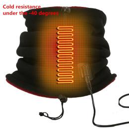 Dual-use graphene heating scarf hat