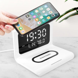 Multi-functional 3in1 mobile phone wireless charger