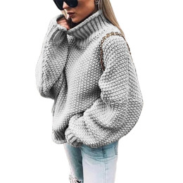 Women's Pullover Batwing Sleeve Sweater-High Quality