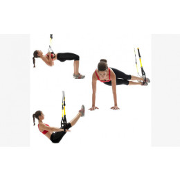 Exercise kit: Exercise your whole body at home with an effective suspension exercise kit