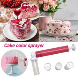 2021 hot! Manual Cake Spray Gun Cake Airbrush Coloring Sprayer Watering Can Decorating Kitchen Tools Bakeware
