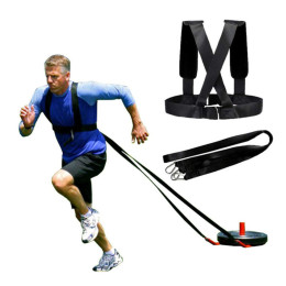 Crossfit Yoga Resistance Bands Running Rubber Traction Belts Agility Exercise Belts Speed Suspension For Gym Fitness