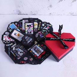 Hexagon Love Explosion Box photo album