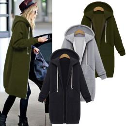 Ladies Fleece Zip Up Sweatshirt