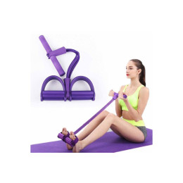 The training elastic has both handles and footrests that ensure you get the most out of your training