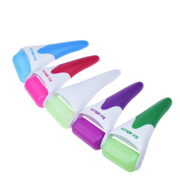 Face Eye Ice Roller, Body Shaping Cold Roller Anti Wrinkle Face Stretch Tape Stress Pain Relief Massager Face Lift