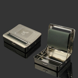 Cigarette Roller Machine 70mm Box Metal Cigarette Maker
