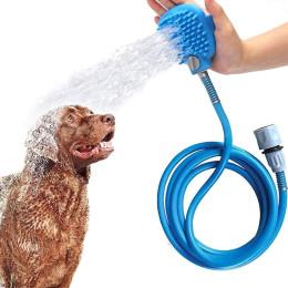 Bath brush pet cleaning tool