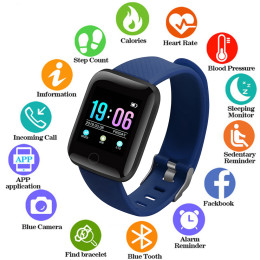 D13 Smart Bracelet Fitness Tracker Heart Rate Blood Pressure Monitor Smart Band