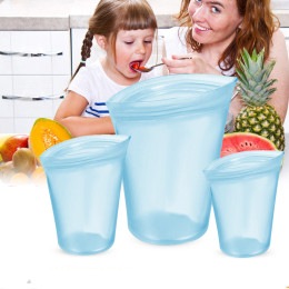 Zip Top Leakproof Reusable Containers
