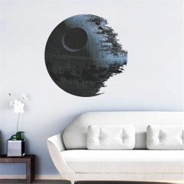 Movies star wars death star vinyl art wall stickers