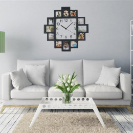 DIY Wall Clock Modern Design Photo Frame Clock