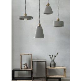 Nordic Cement LED Pendant Lights Fixtures