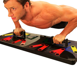 Multifunction Push Up Rack Board Body Building Training Tool