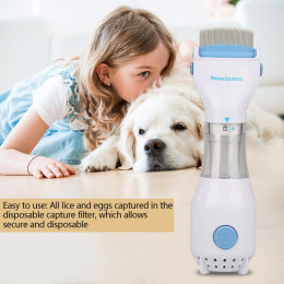 Electric Flea Comb Puppies Fleas Treatment for Pet