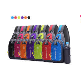 Travel Bag Chest Bag Hiking  Pack With Water Bottle Pocket