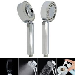 Handheld Double-sided Adjustable Shower Head