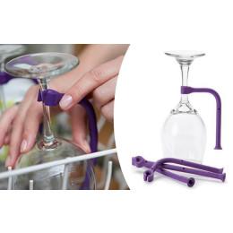 4pcs a set Wine glass inverted rack Rubber wine glass holder Wine glass holder Kitchen tools