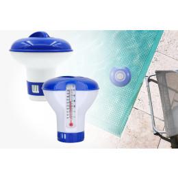 2pcs Swimming pool cleaning tool Liquid chlorine dispenser