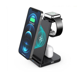 Three-in-one watch holder mobile phone wireless charging 15W detachable