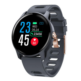 Men Smart Watch S08 IP68 Waterproof Fitness Tracker Heart Rate monitor Smartwatch
