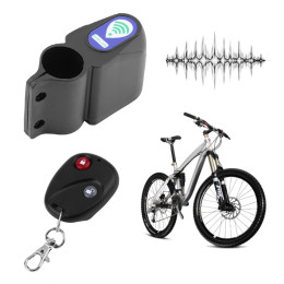 Cycling Security Lock Remote Control Vibration Alarm