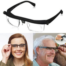 Adjustable Lens Eyeglasses Variable Focus Distance Glasses