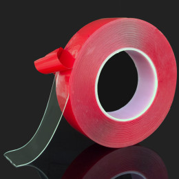 Transparent Silicone Double Sided Tape High Strength No Traces Adhesive Sticker
