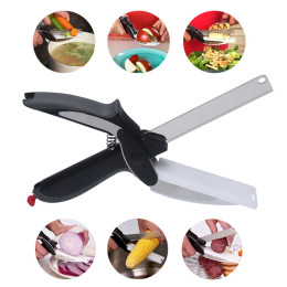 Clever Cutter 2-1 Food Chopper Scissor