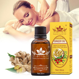 Pure Plant Essential Oil Ginger Body Massage Oil