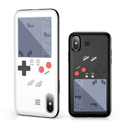 Tetris Game Machine Phone Case For iPhone