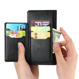 Apple zipper card wallet all inclusive anti fall mobile phone case