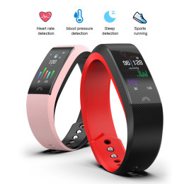 F6 Smart Bracelet Heart Rate Monitor Waterproof Fitness Tracker