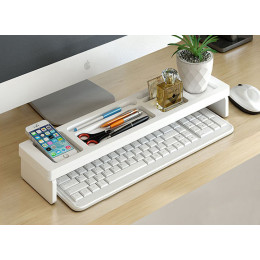 Desk Storage Shelf Office Desktop Organizer Storage