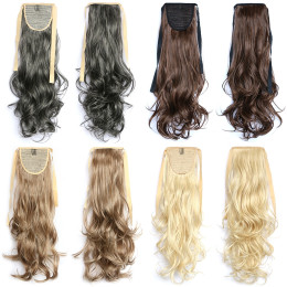 50CM Natural Wavy Curly Long fake hair