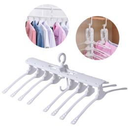 Creative Folding Hangers  Multifunction Magic Drying Rack