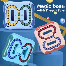 Rotating Magic Bean Intelligence Fingertip Rubik's Cube