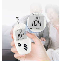 Blood Glucose Meter Glucometer Kit Diabetes Tester