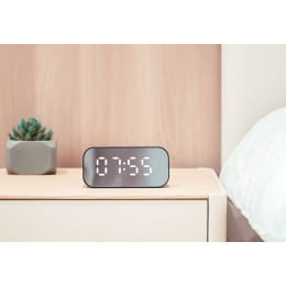 HAVIT Portable Bluetooth Speaker Alarm Clock Wireless LED Display