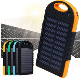 QI wireless solar outdoor power Bank