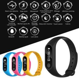 M2 Smart Wristband Heart Rate Monitor Pedometer Smart Bracelet