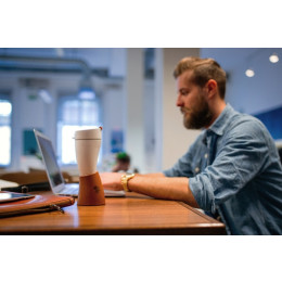 USB 304 stainless steel croissant coffee cup