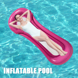 Water inflatable foldable bed
