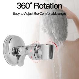 Adjustable shower suction cup bracket