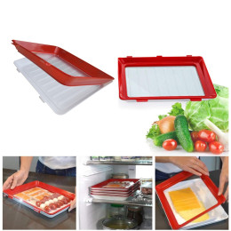Creative Food Preservation Tray Food Fresh Storage Container
