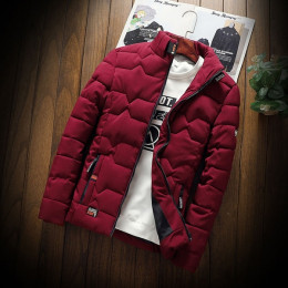Winter Cotton Padded Jackets Men's Jackets Warm Coat