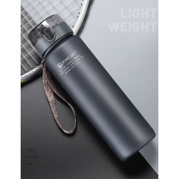 Sport Water Bottles Protein Shaker Camping Hiking Drink Bottle