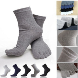 Sports Five Finger Pure Cotton Socks