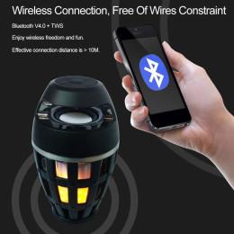 Flame Atmosphere Lamp Bluetooth Speaker